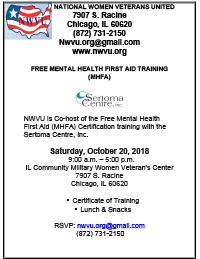 Free Mental Health First Aid Training Mhfa National Women Veterans