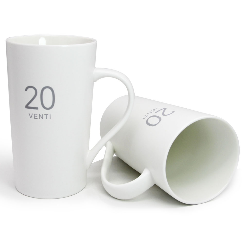 Fullsize Of Tall White Coffee Cups