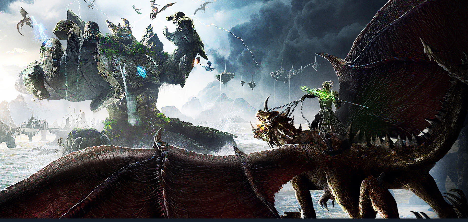 Monster Girl Quest Wallpaper Riders Of Icarus Ride Dragons And Rule The Skies As A