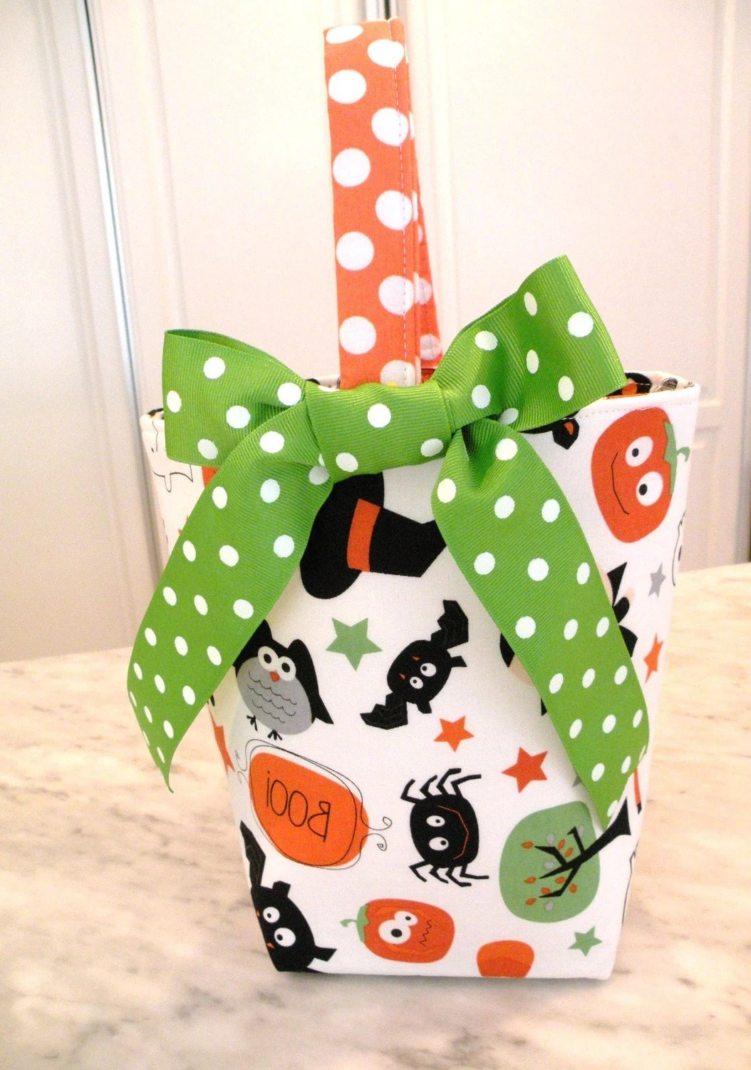 Halloween Trick or Treat Candy Bag--Boo To You--ON SALE
