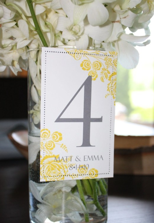 Table Number Wine label or Cardstock 1-10 Choose your Color