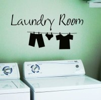 Laundry Room Removable Wall Stickers Wall Decal