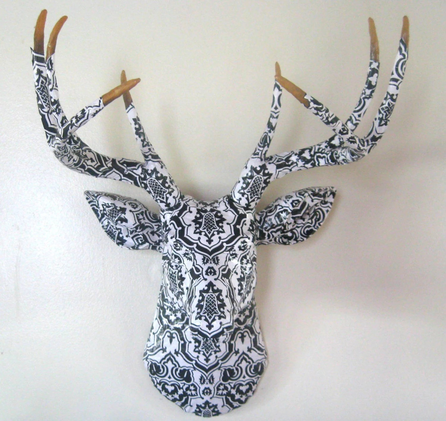 Faux Stag Head Let 39s Stay Decorative Faux Animal Heads For Your Home