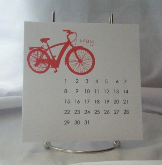 Bicycle Desk Calendar