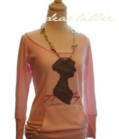LIMITED EDITION -- Jane Austen Silhouette and Quote - K