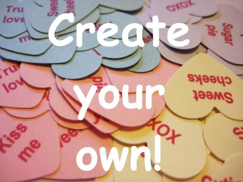 Candy Conversation Hearts Sayings Valentine Craft 5th Grade