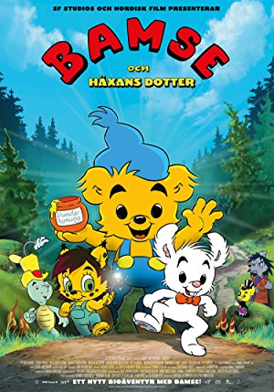 Bamse and the Witch's Daughter – Magnetlank