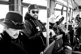 Serge (audio) riding the bus