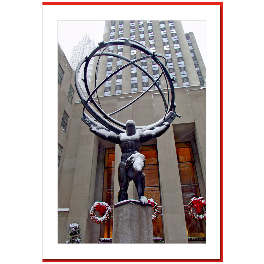 Atlas Decoration Holiday Decorations At Atlas Rockefeller Center Ny