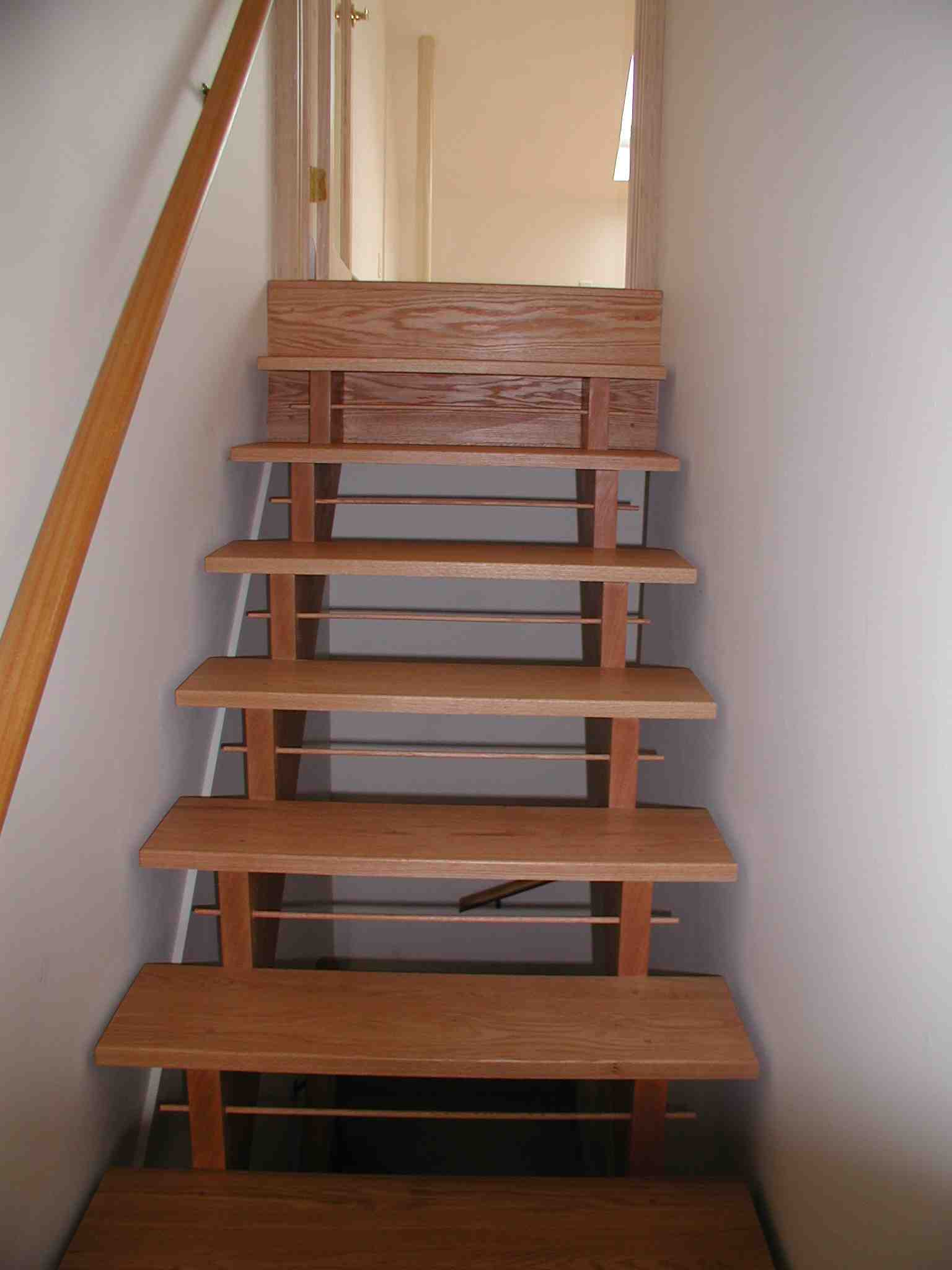 York Spiral Stair Wood Stairs Designed Built Installed Repaired NYC New York City NY Brooklyn Manhattan staircase ...