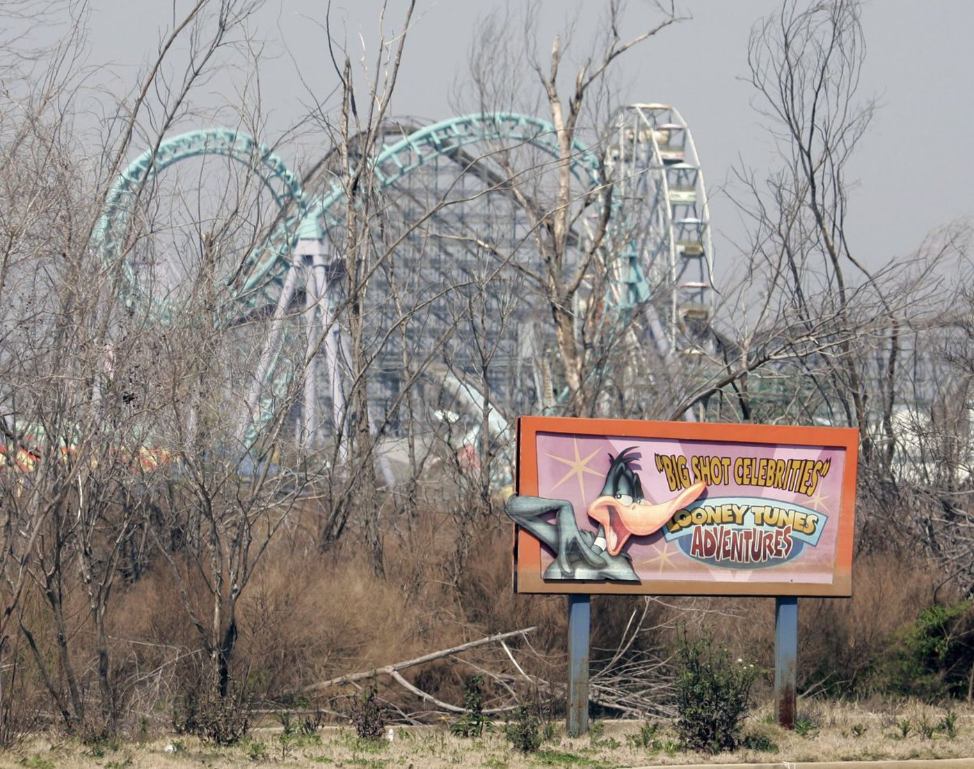 Six Flags Jazzland Developers Eye Revival Project For Decaying Six Flags New