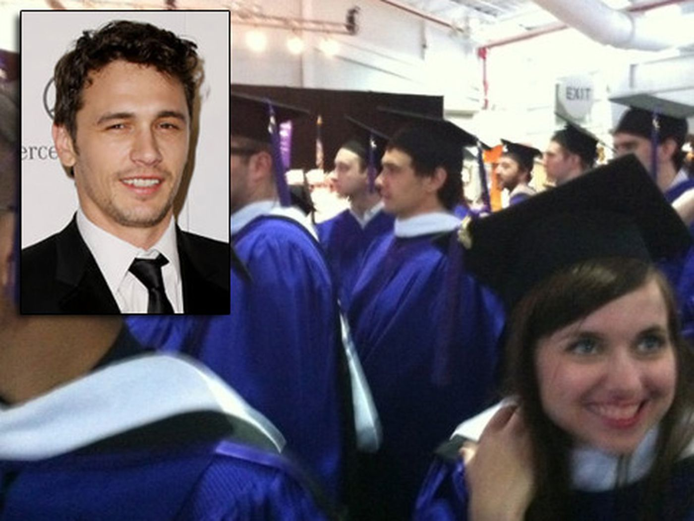 Nyu Tisch School Of The Arts Location James Franco Graduates From Nyu 39s Tisch School Of The Arts