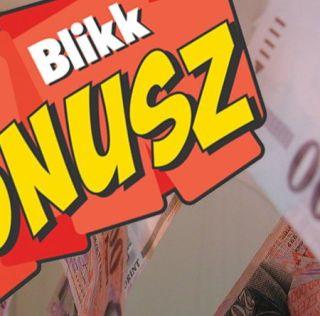 Blikk Bónusz 2016  játék – nyerj készpénzt