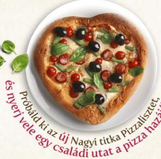 Nagyi titka Pizzaliszt nyereményjáték – nyerj pizzakészítő készletet