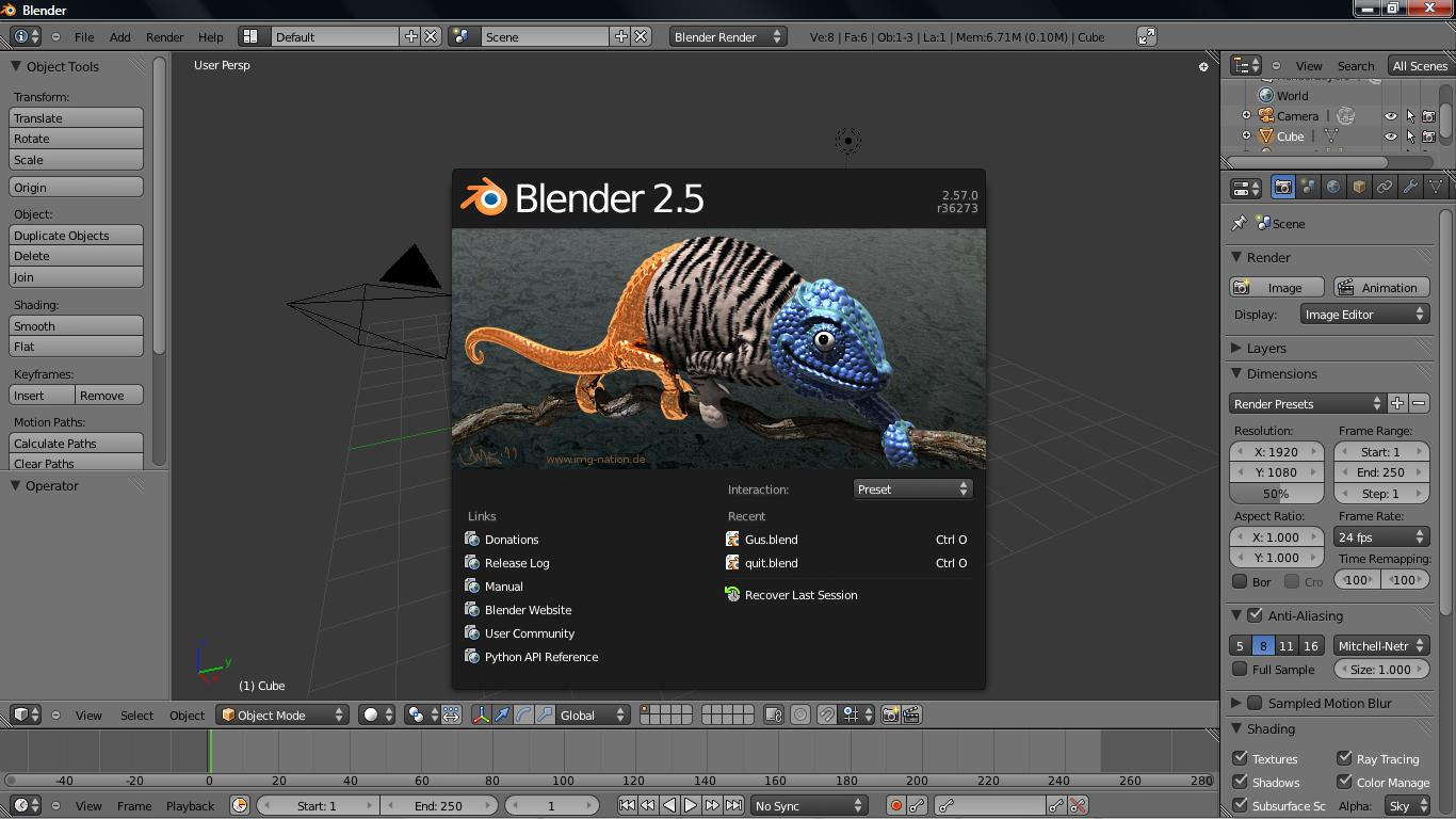 3d Programme The Best Free Open Source Animation Software