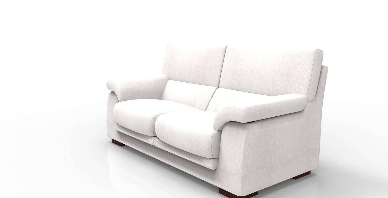 Made Sofa Shop Soflex Caren Modern White Fabric Sofa Custom Made In Spain