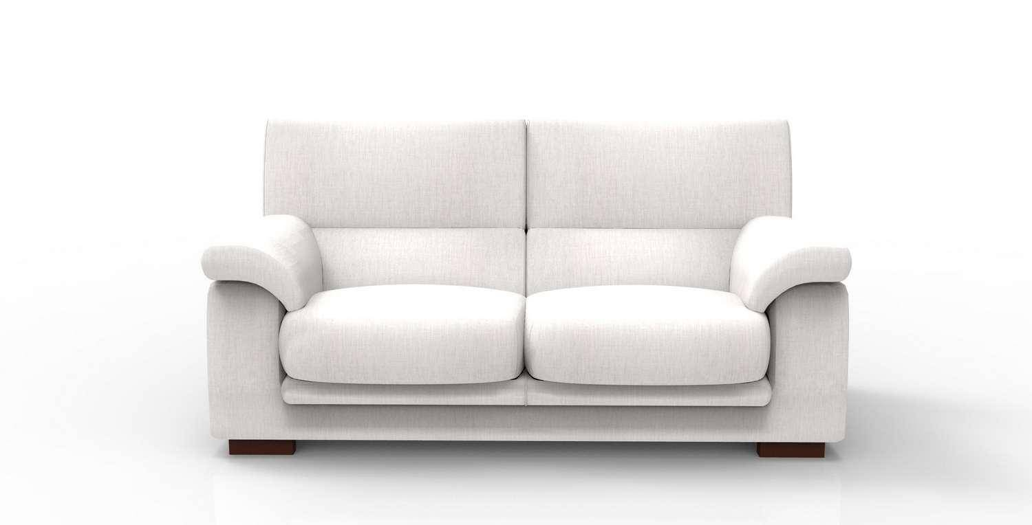 Made Sofa Reviews Soflex Caren Modern White Fabric Sofa Custom Made In Spain
