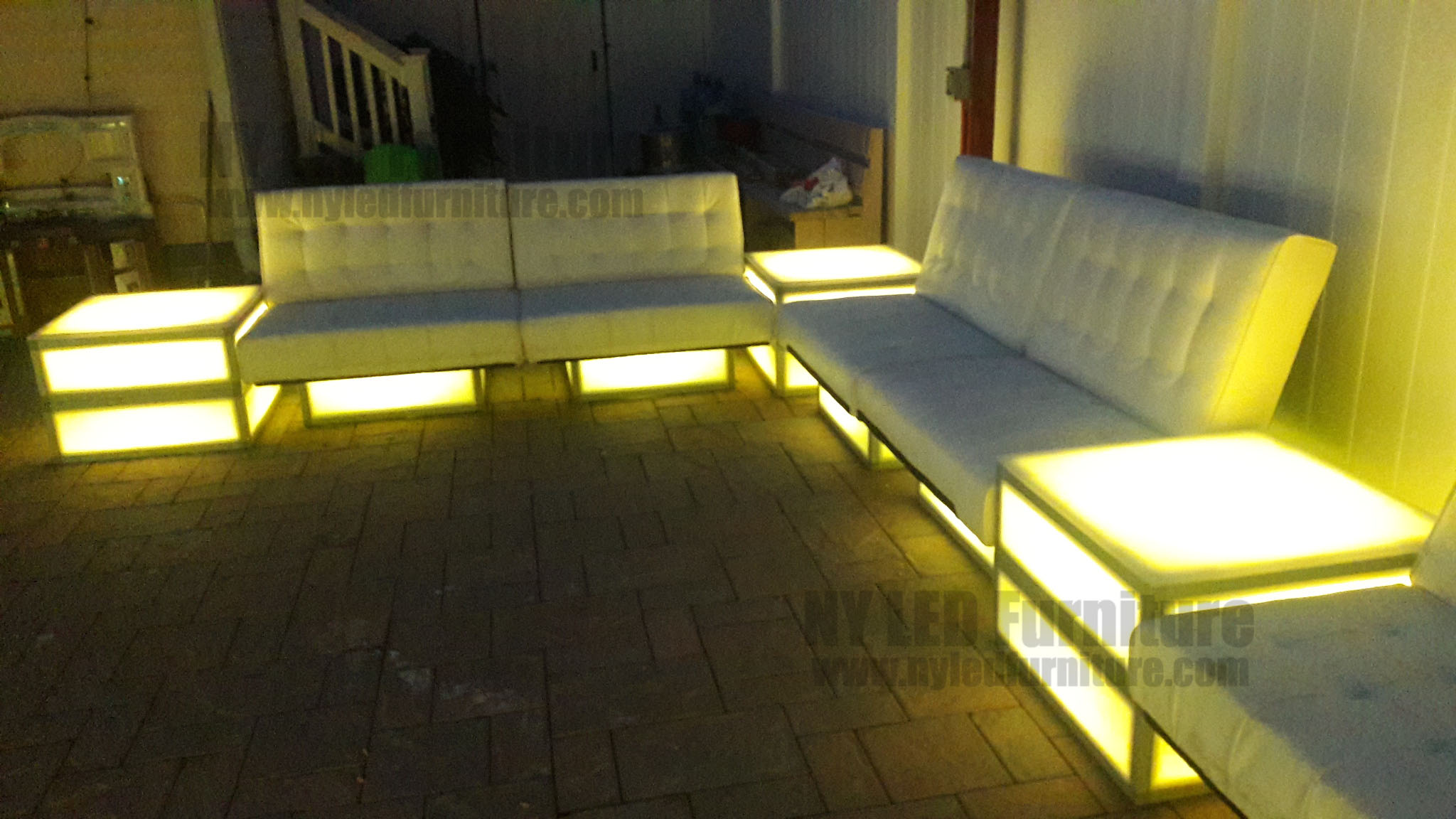 Sofa Led Led Party Sofa Rental