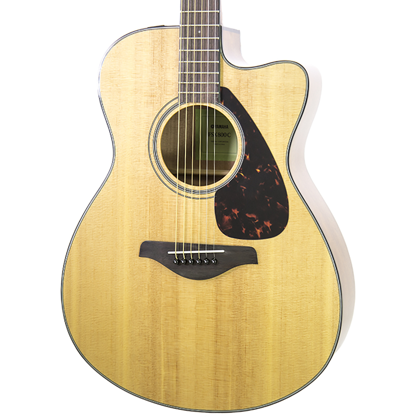 Acoustic Yamaha Brand New Yamaha Fsx800c Natural Acoustic Electric Guitar