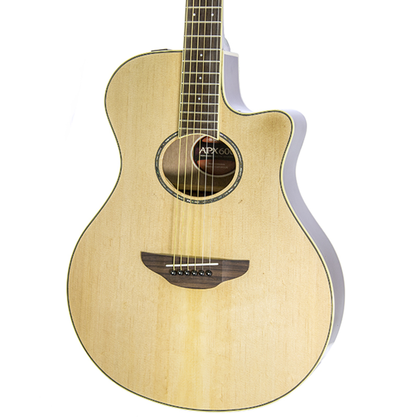 Acoustic Yamaha Brand New Yamaha Apx600 Natural Acoustic Electric Guitar