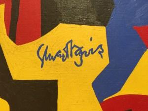 Stuart Davis's Signature