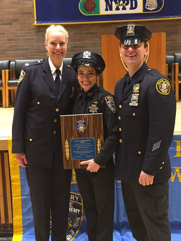 NYPD Auxiliary Graduation - NYPD News
