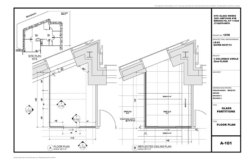 hvac drawings for permit application