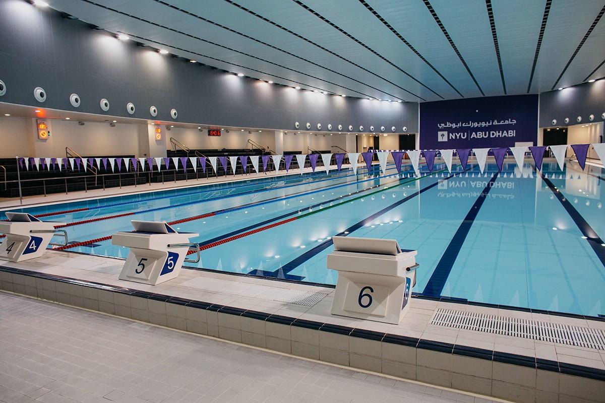 Athletics Facilities Nyu Abu Dhabi
