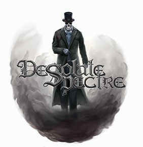 Desolate Spectre White Logo
