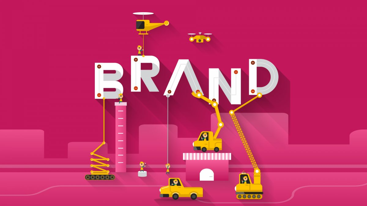 Corporate Graphic Design Focusing Attention On Building A Strong Corporate And Brand