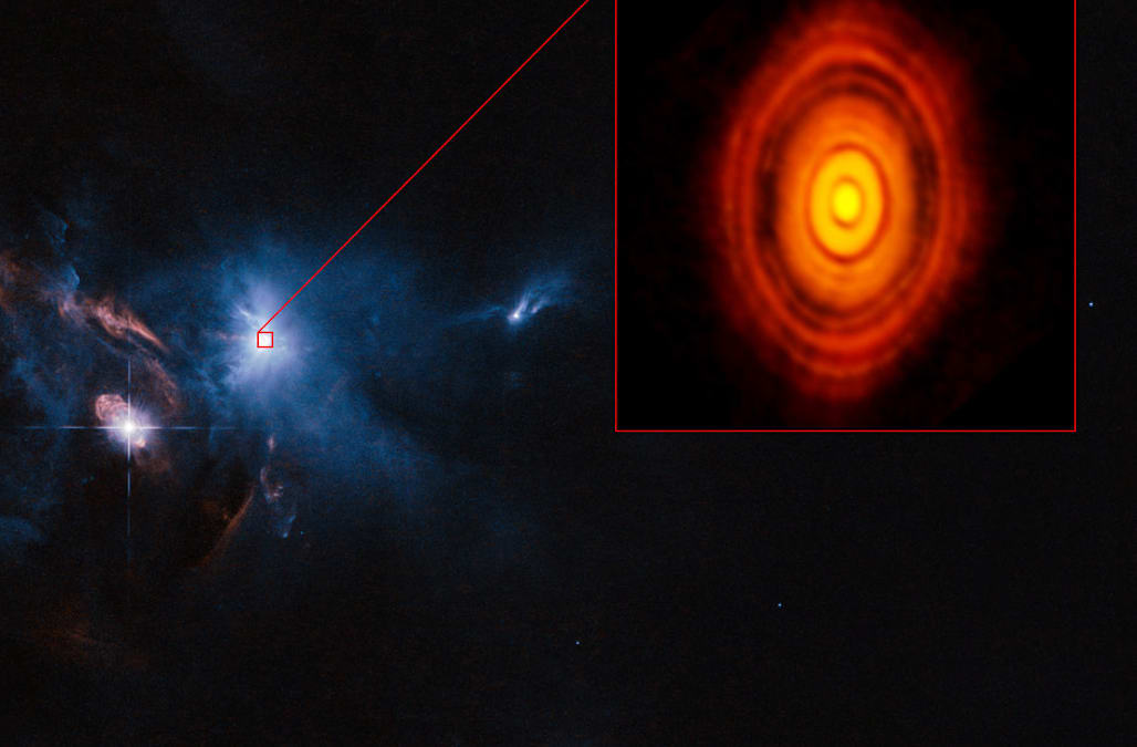 Green Living Detailed Planet Formation Image Lets Alma Telescope Show