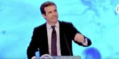 Cachondeo con este lapsus de Pablo Casado durante su discurso en el Congreso del PP | El ...