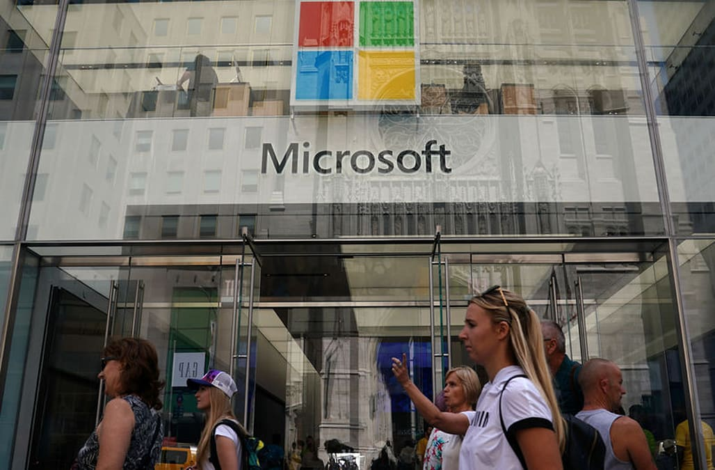 Microsoft overtakes Amazon as second most valuable US company - AOL