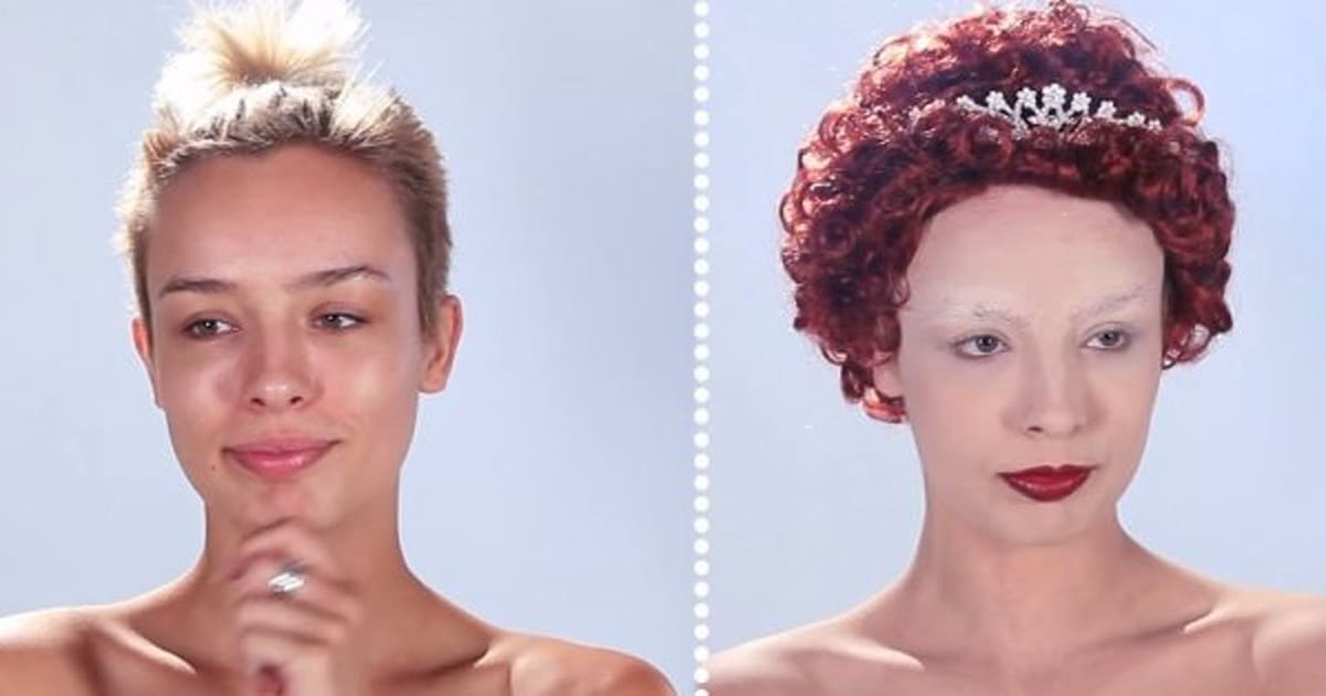 This Is How Much Women\u0027s Makeup Has Changed Through History (VIDEO) - history of makeup