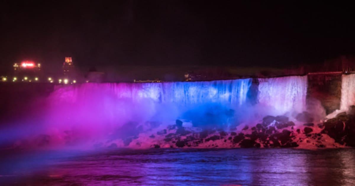 Niagara Falls Waterfall Wallpaper Niagara Falls Lights Get A Dazzling 4m Makeover