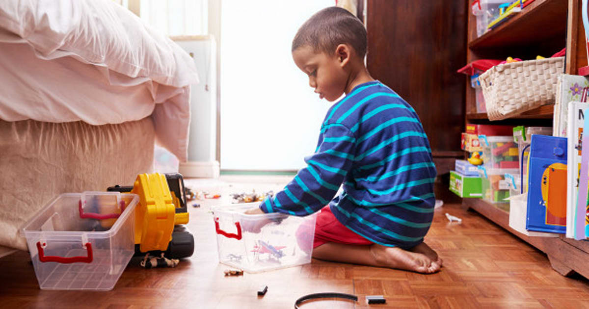 Teaching Kids About Tidying Up After Themselves Starts