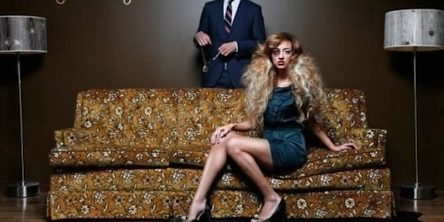 Edmonton Salon Ad Controversy Vandals Deface Fluid Hair HuffPost