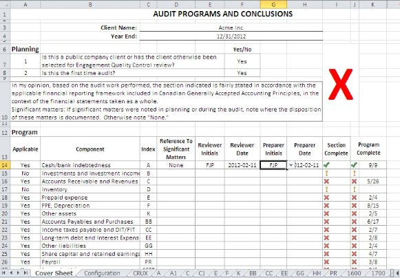 Audit Program  ResumeTemplatePaasproviderCom