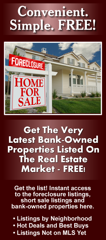 Find Local Bank Owned Properties in Toms River