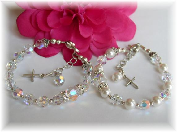 AddictiveJewelry Baby Baptism Jewelry, First Communion Jewelry