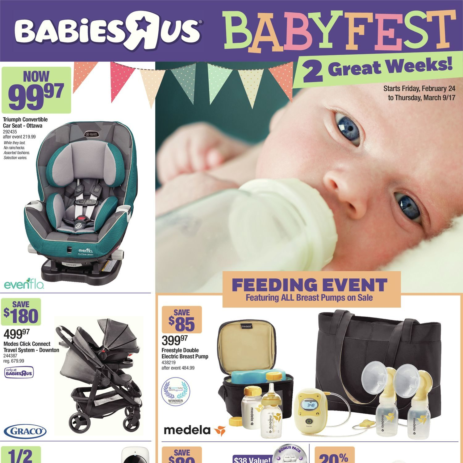 Baby Teethers Babies R Us Babies R Us Weekly Flyer 2 Great Weeks Babyfest Sale