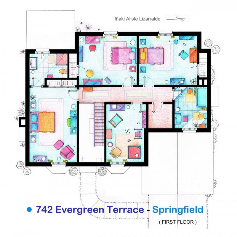 hand drawn tv home floor plans ñaki aliste lizarralde homedsgn family home floor plans multi family house plans family floor