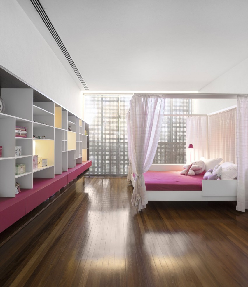 Schlafzimmer Modern Pink The P House By Studio Mk27 Lair Reis Home Design