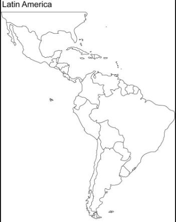 Latin America Land features Diagram Quizlet