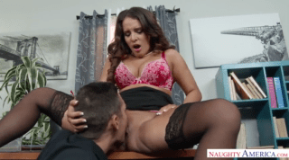 Gorgeous Boss Employs Hot Cock For Her Pussy