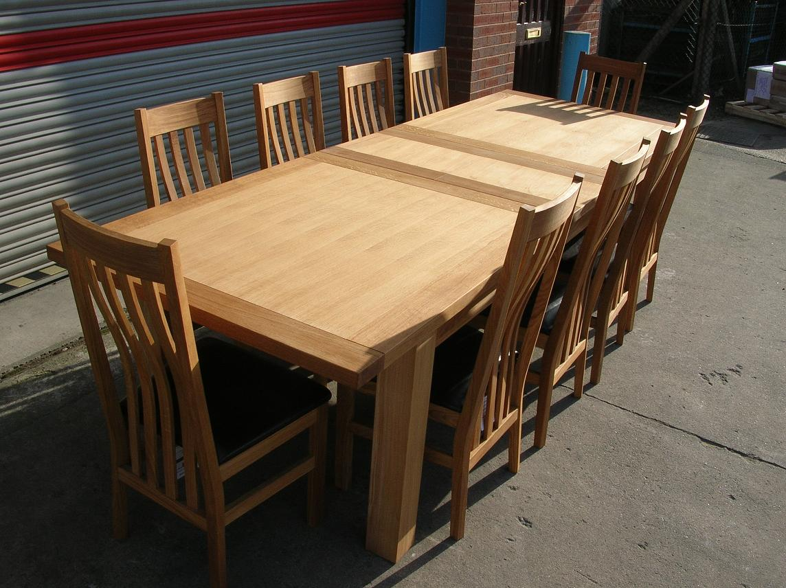 Large Dining Room Table Seats 10 Large Dining Table Seats 10 12 14 16 People Huge Big