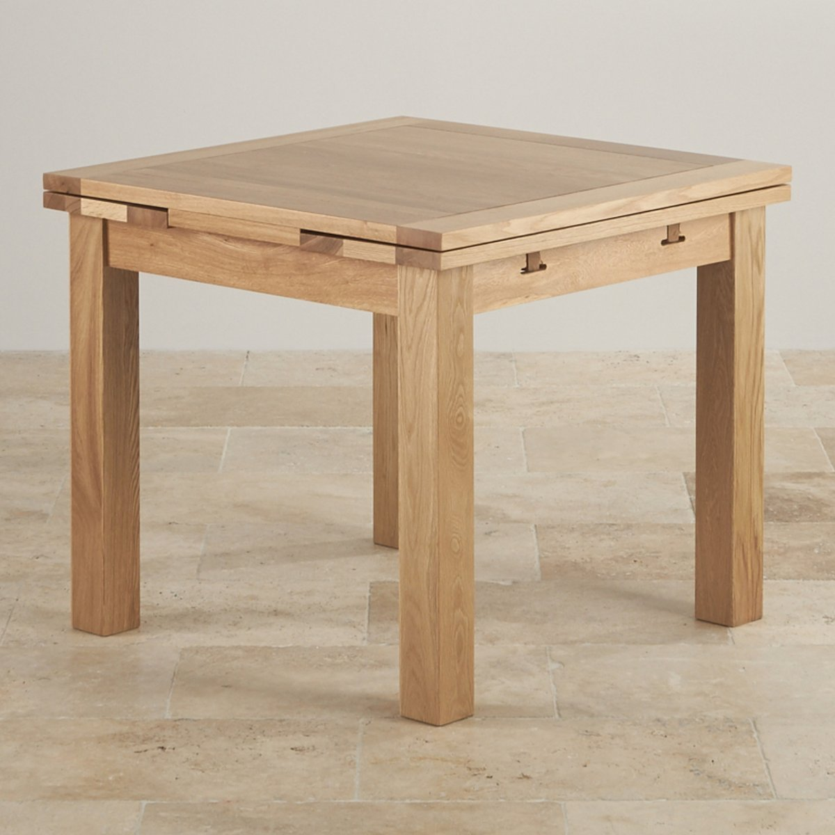 3 X 8 Table Dorset 3ft X 3ft Natural Oak Extending Dining Table Seats