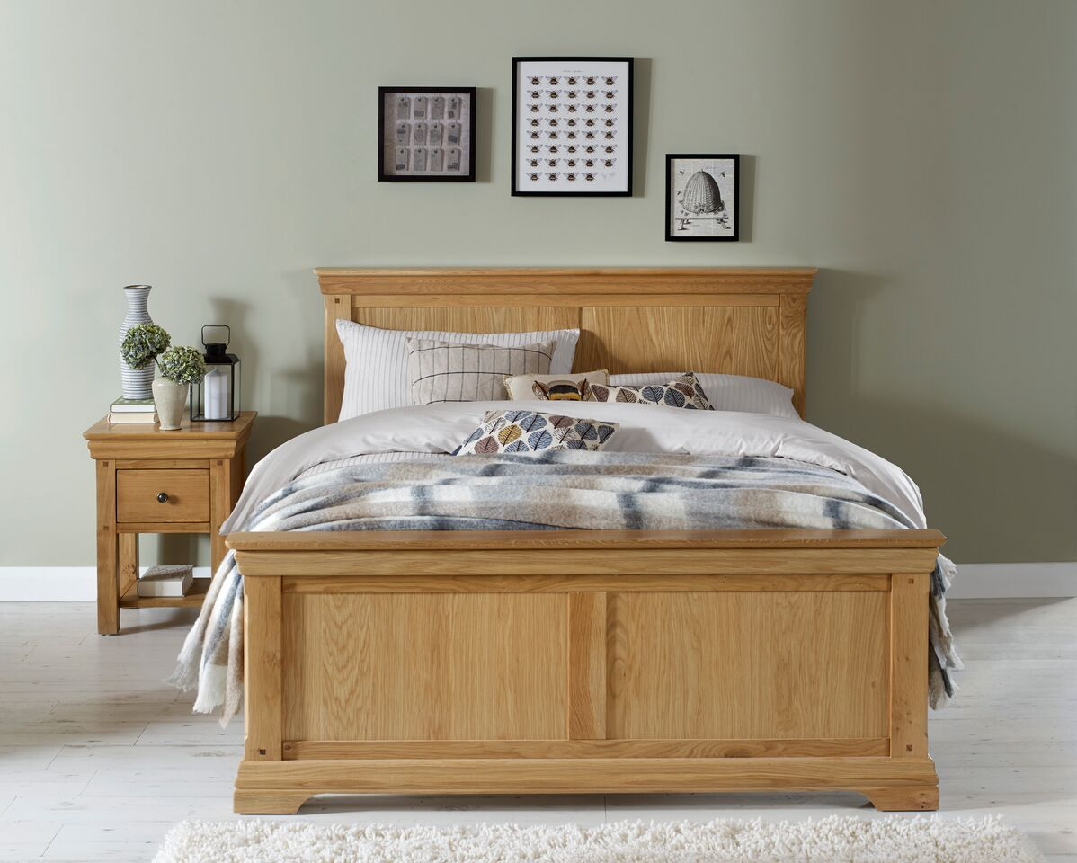 Kitchen Cabinet Kings Discount Code Brompton Oak King Size Bed