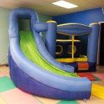 TinyTreasures6inflatablebouncerslidepreschool
