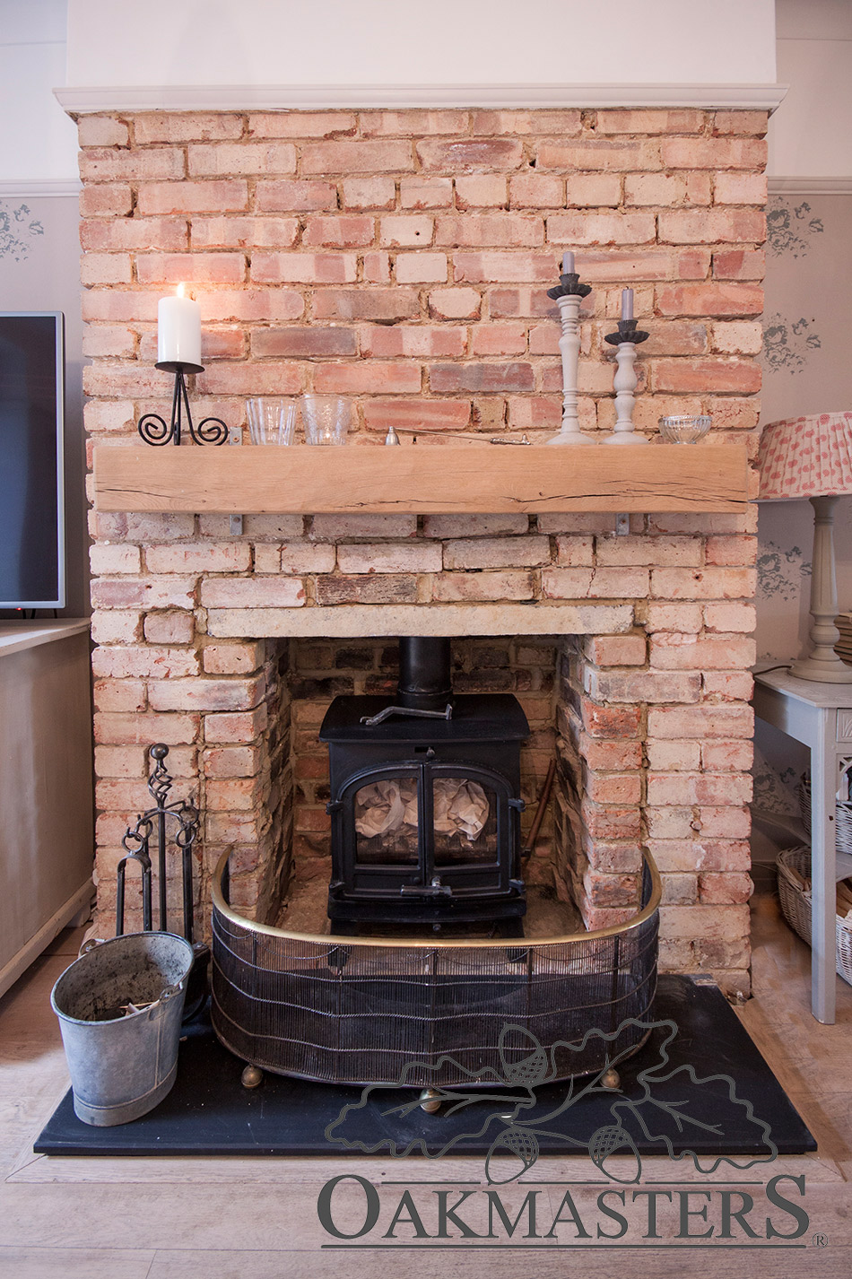 Fireplace Beams Stylish Ideas For Cosy Oak Fireplaces Oakmasters